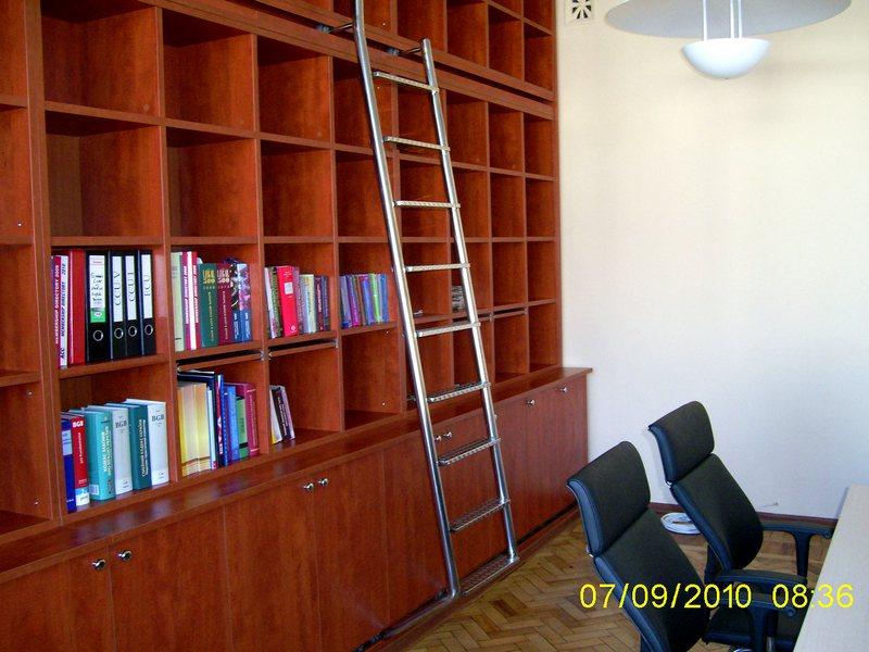 Лестница в библиотеку