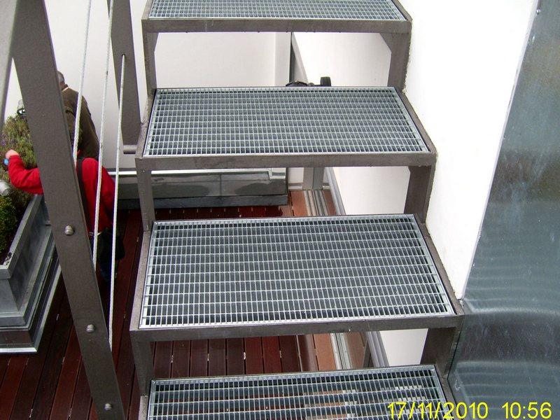 Ступени наружной лестницы
