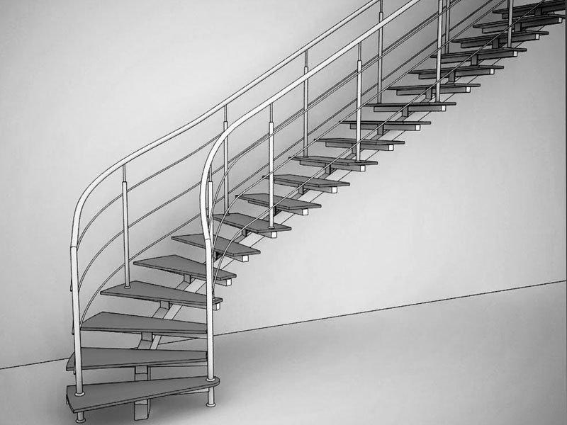Проектирование лестницы фото
