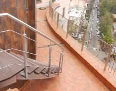 Лестницы металлические из нержавейки