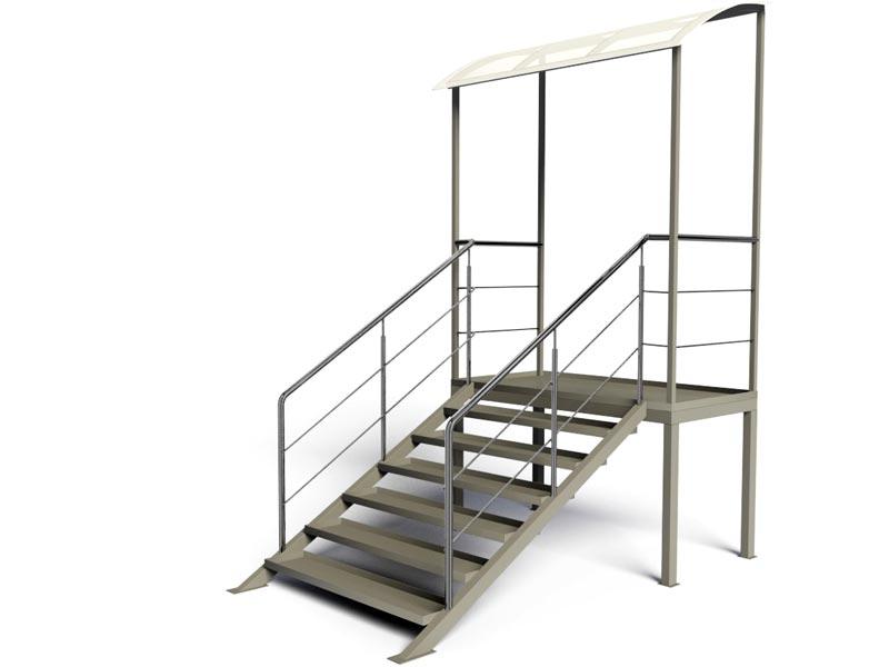Лестница входной группы