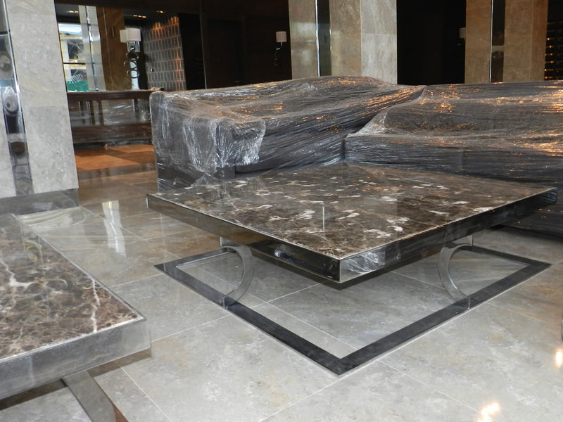 Мебель из н/ж стали