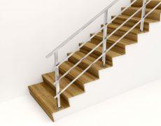 Перила для лестницы из нержавейки ПН2