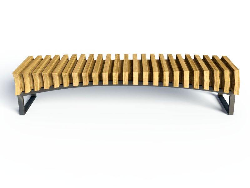 Дизайнерская скамейка из фанеры