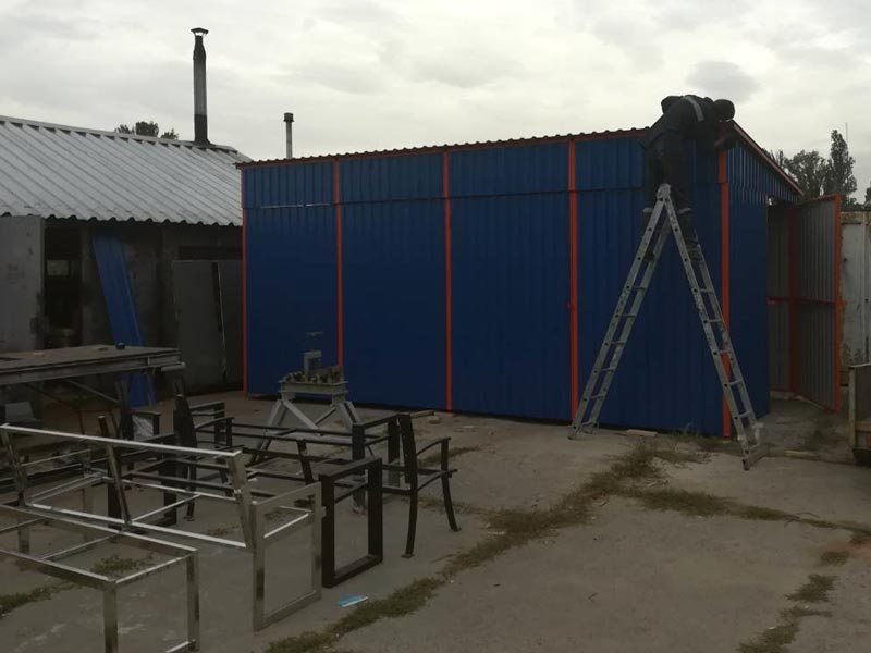 Фото ангара для склада