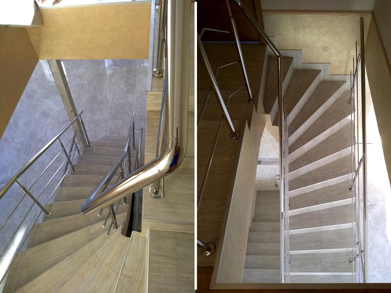 Изображение перил на лестнице