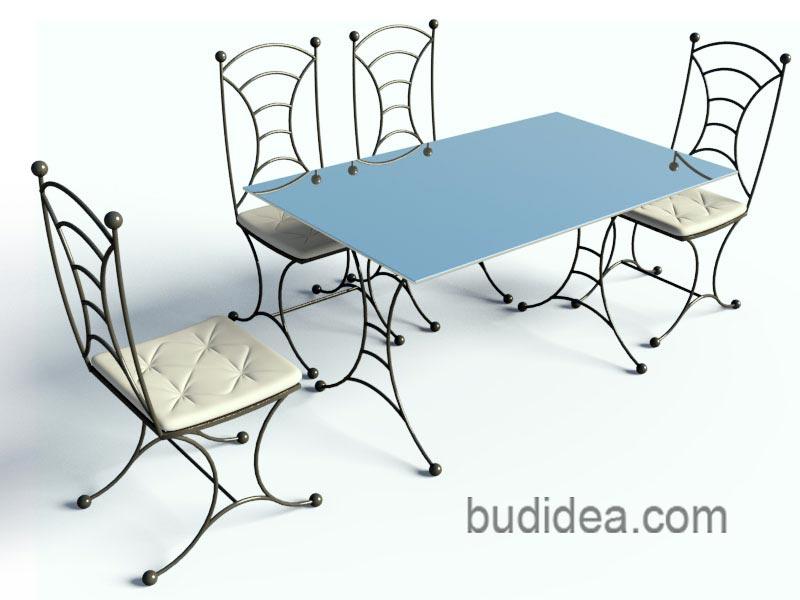 Садовый комплект мебели Прованс