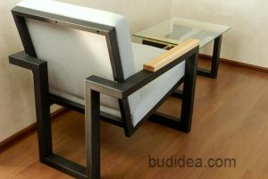Кресло лофт с журнальным столом