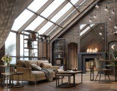 Мебель в стиле индастриал и лофт