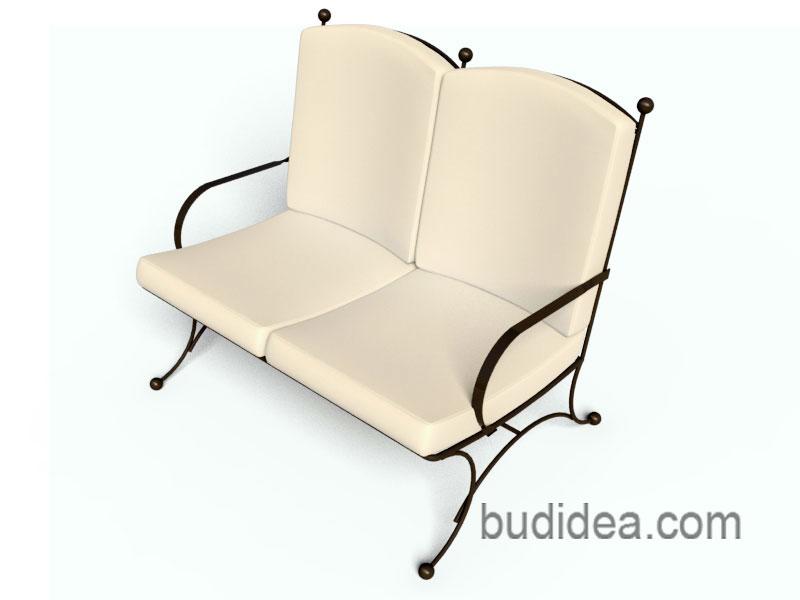 Садовый диван купить Будидея