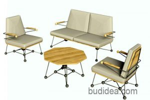 Набор мебели для дачи