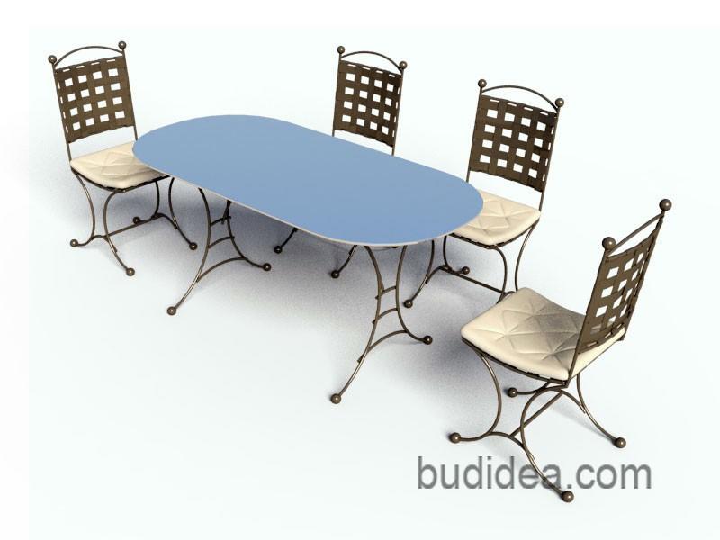 Набор мебели для сада Прованс