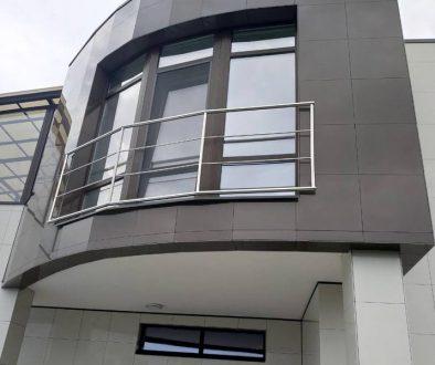 Оконные ограждения французского балкона