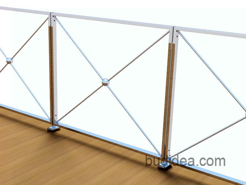 Модульное ограждение для террасы