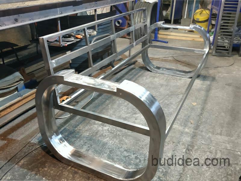 Стиль лофт мебель в металле