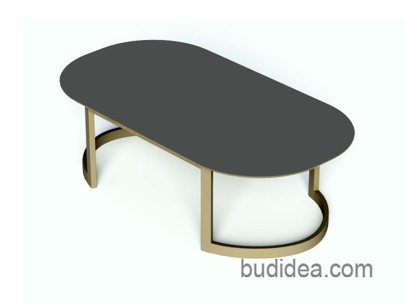 Кофейный столик лофт Элипс