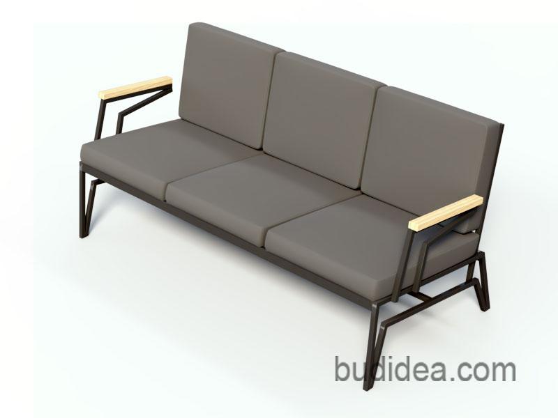 Дизайнерский диван для лофта
