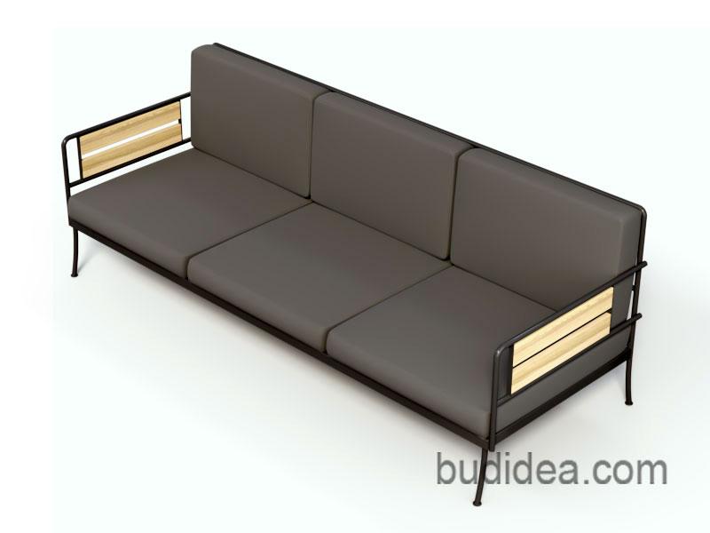 Офисный диван в стиле лофт