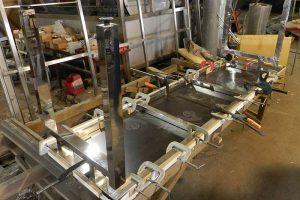 Изготовление стола из нержавеющей стали