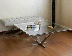 Мебель из нержавейки для дома