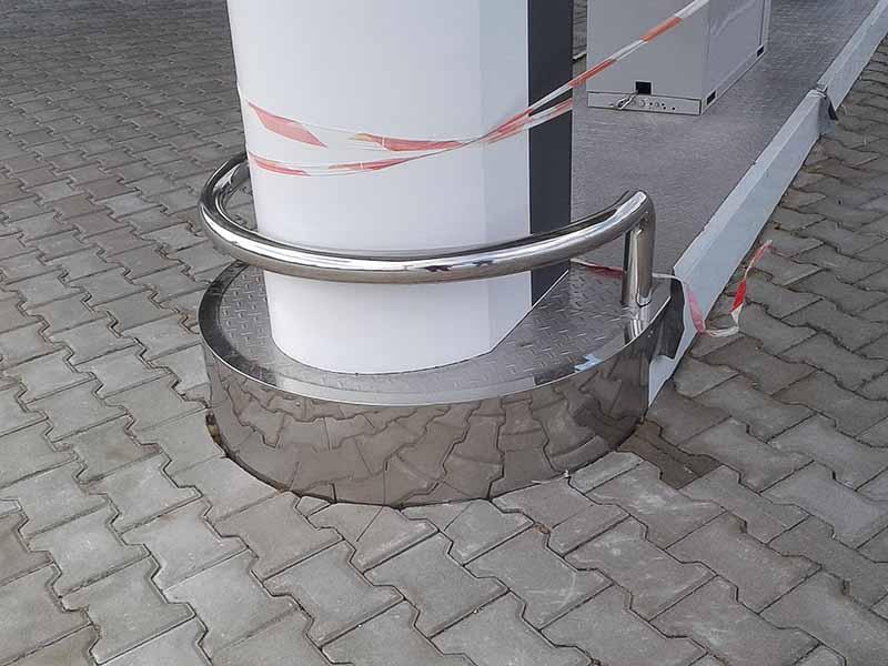 Конструкции из нержавеющей стали