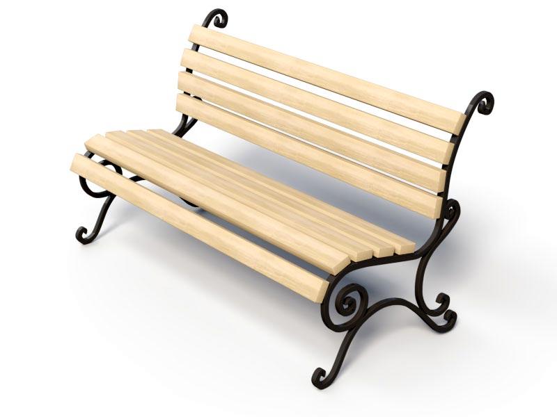 Кованая скамейка купить Киев