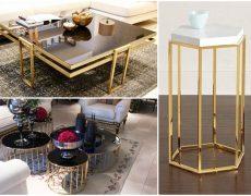 нержавейка под золото в изготовлении мебели
