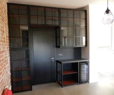 Шкаф в стиле лофт