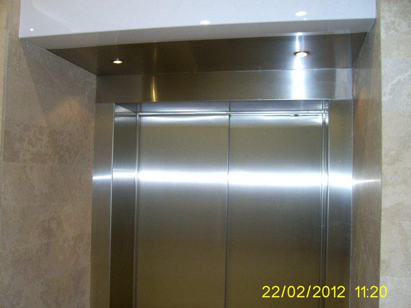 Обрамление лифтовых порталов