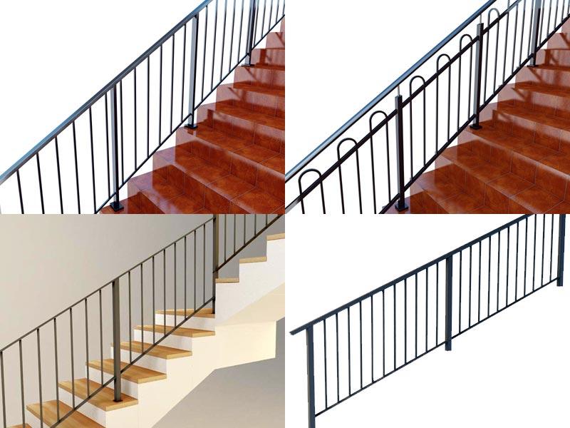 Схемы перил лестницы
